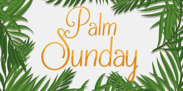 Palm Sunday – In the Upper Room